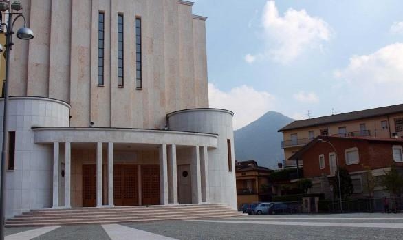 Luserna e Pietra di Prun per il Sagrato della Chiesa di S. Sebastiano a Lumezzane