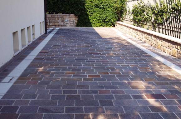 Le nostre opere di pavimentazione per esterni - Pavimentazione esterna casa di campagna ...
