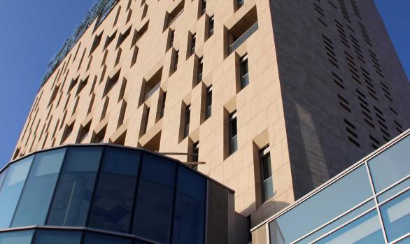 Skyline Brescia - Centro commerciale Freccia Rossa