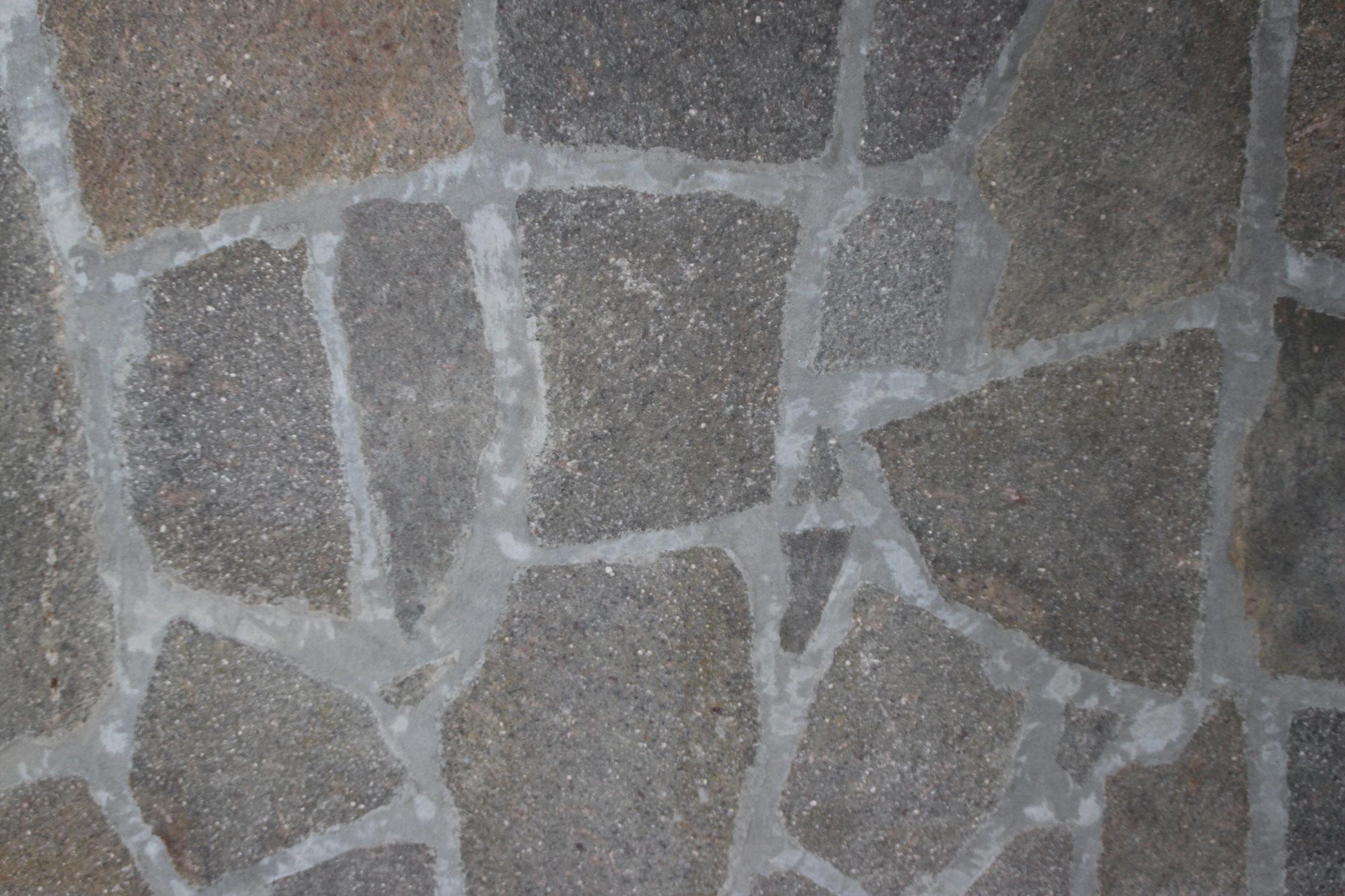 Pavimenti in porfido mosaico grigio pavimenti per esterni in