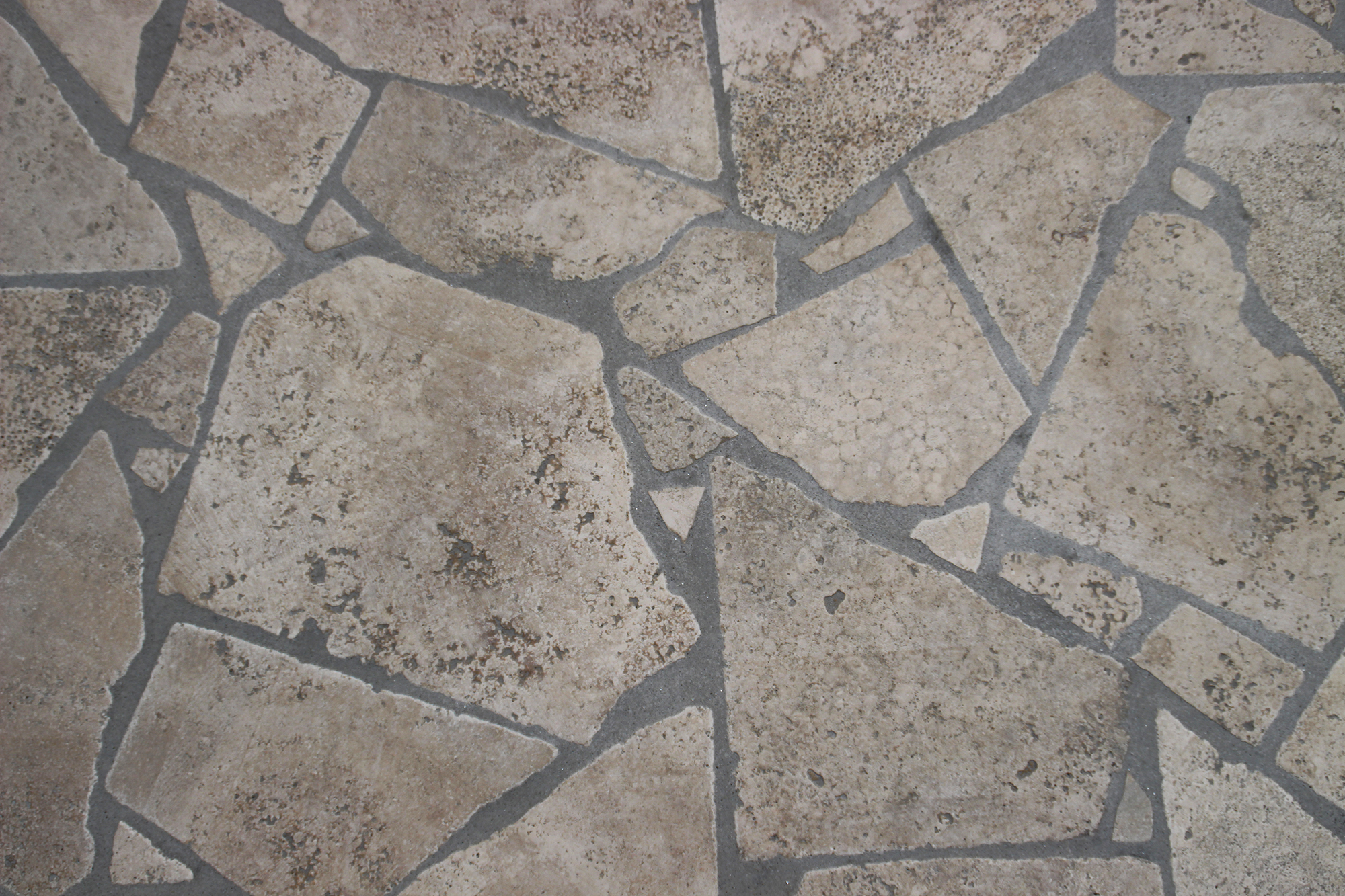 Mosaico travertino pavimenti per esterni in pietra naturale