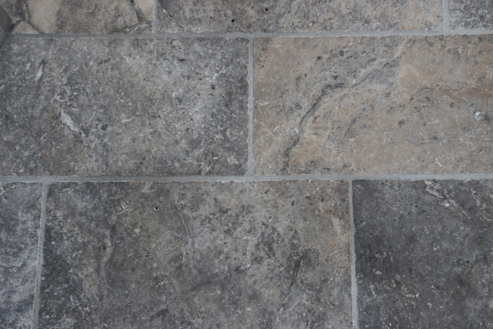 Travertino grigio pavimenti per esterni in pietra naturale